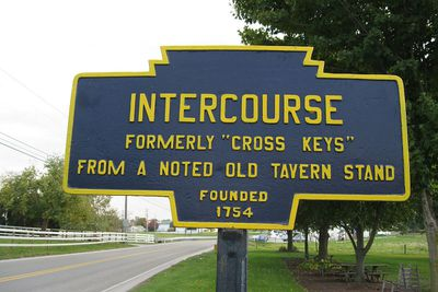 Intercourse, Pennsylvania