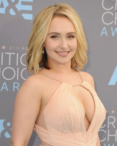 Hayden Panettiere, Critics' Choice Awards, 2016, Santa Monica, California.