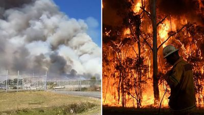 Bushfire 'emergency' in New South Wales downgraded