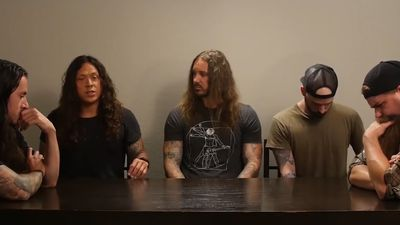 As I Lay Dying singer jailed in wife's murder plot back with band