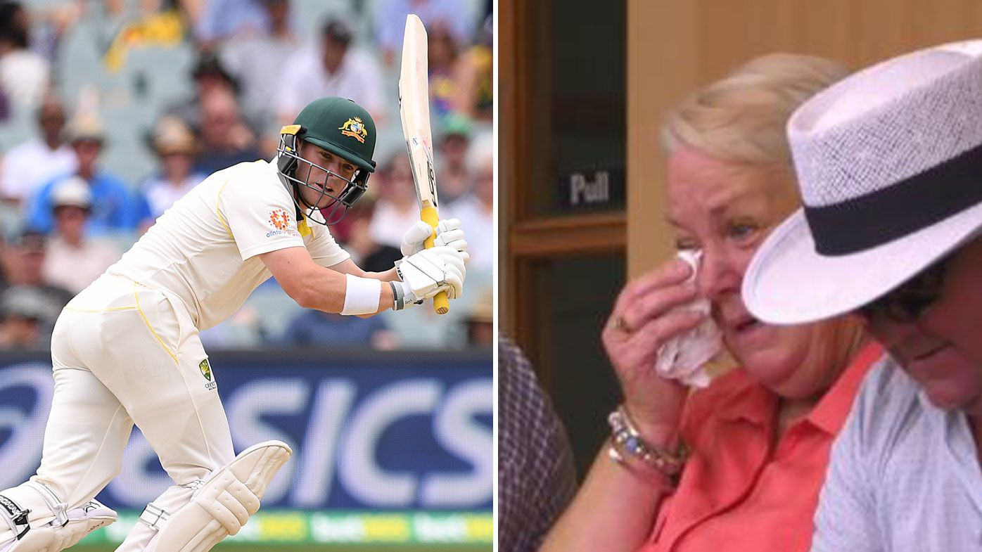 Harris brings mother to tears with gutsy debut knock