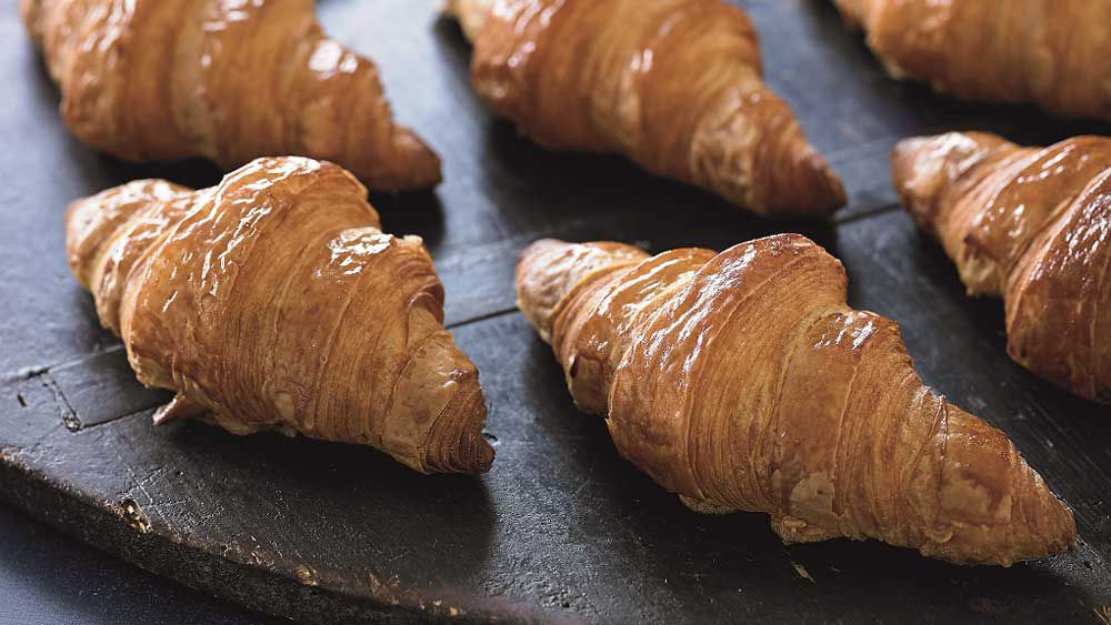 Jean Michel Raynaud's pâte à croissant recipe