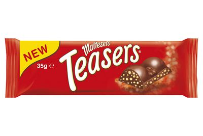 Maltesers Teasers bar 35g: Almost 5 teaspoons of sugar