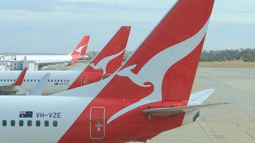 Qantas Brisbane to Chicago