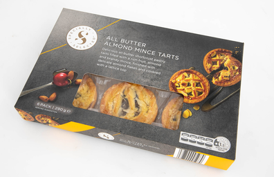 Aldi Specially Selected All Butter Almond Mince Tarts