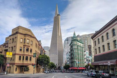 Transamerica Pyramid in San Francisco, California