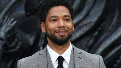 "Smollett, who is black and gay, has said he was physically attacked by two masked men shouting racial and anti-gay slurs and ""This is MAGA country!"""