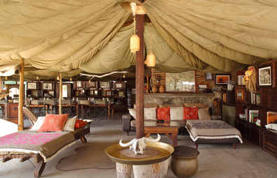 Meno A Kwena luxury safari camp in Botswana