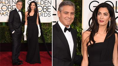 <p>George and Amal Clooney. (Getty)</p><p>Hollywood's finest have strutted the red carpet in Beverly Hills for the 72nd annual Golden Globe Awards.</p>  <p><strong>Click through to see the stars' arrivals.</strong></p>
