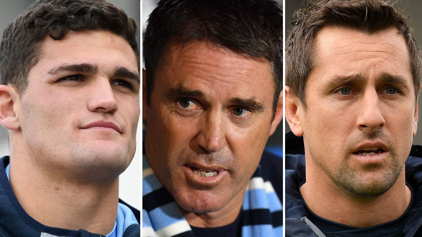 Nathan Cleary, Brad Fittler and Mitchell Pearce