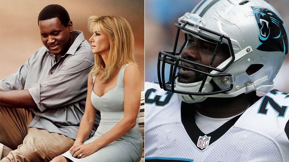 Michael Oher's story was the subject of The Blind Side. (Supplied/AFP)