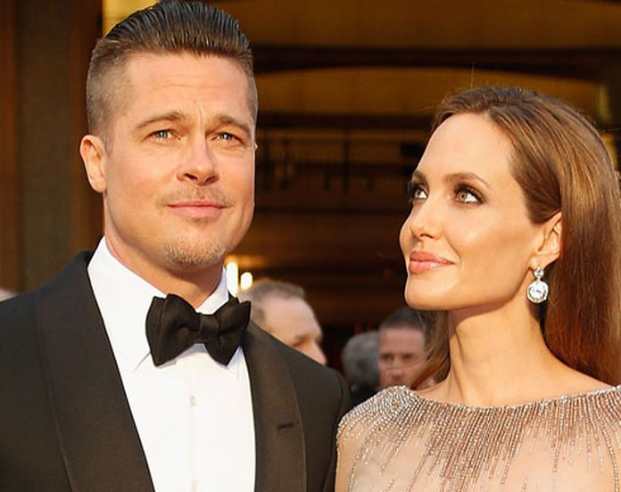 Angelina Jolie And Brad Pitt Got Married Their Romance In Pictures