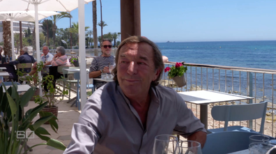 60 Minutes attempted to put the allegations to Marie directly at a beachside restaurant in Ibiza.