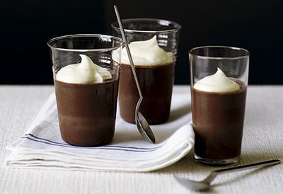 Bitter chocolate jellies