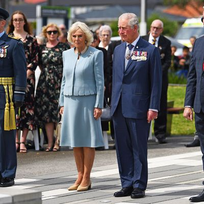 Prince Charles and Camilla, Duchess of Cornwall, send their support