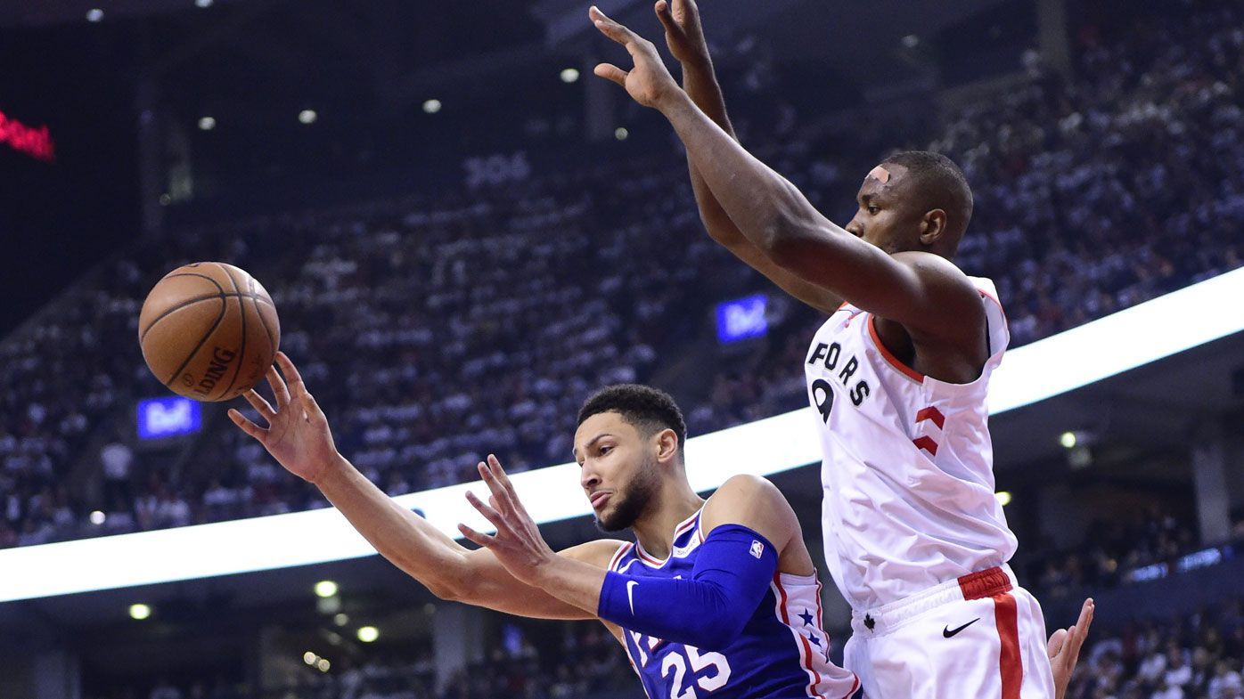 76ers' star Ben Simmons goes MIA again in game 5 loss to Toronto