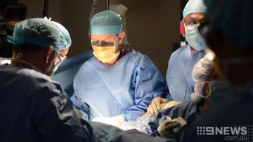 Brisbane's Mater Hospital successfully performs spinal surgery for unborn baby