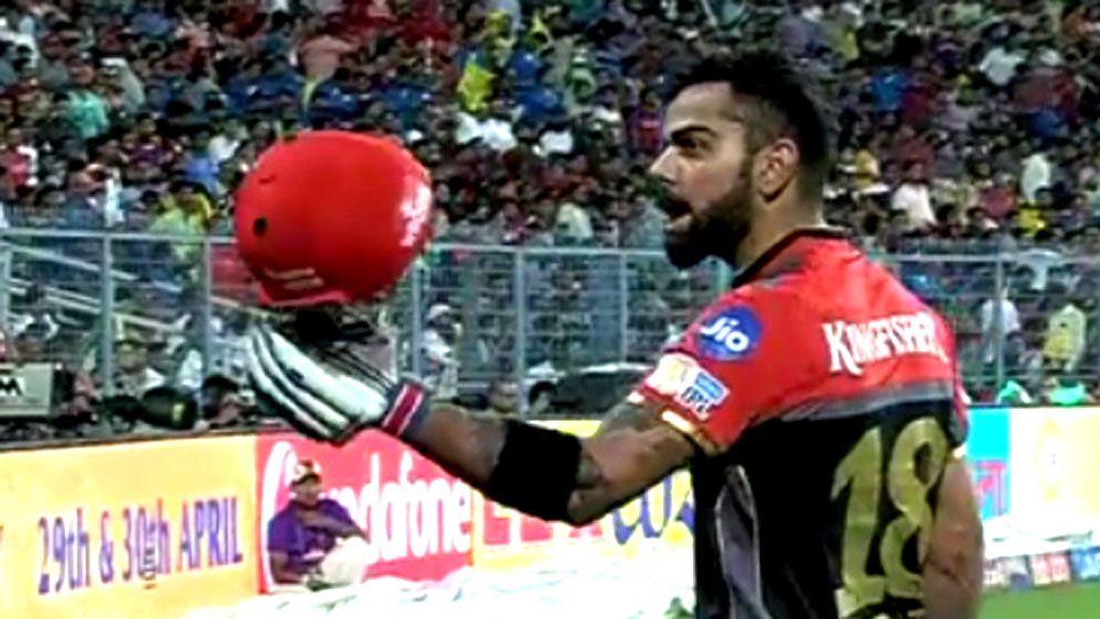 Virat Kohli chucks royal tantrum after Nathan Coulter-Nile dismisses him for golden duck in IPL