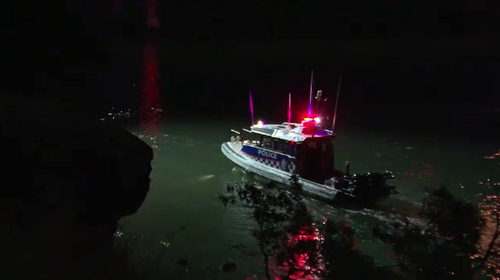 It is unclear how many people were in the car when it went into the Hawkesbury River.