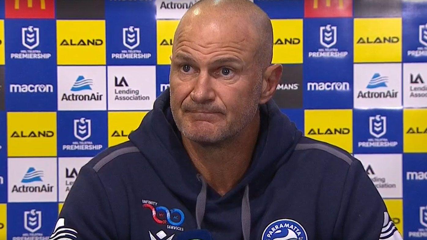 Under-fire Eels coach Brad Arthur ready to handle 'the noise'