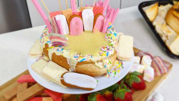 Dessert cob is fairy bread on overload