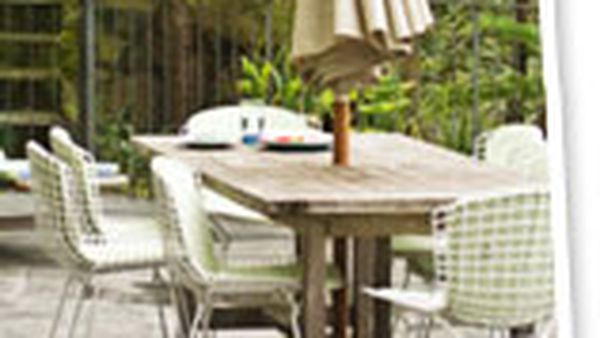 Revamping metal outdoor furniture