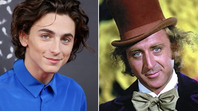 Timothée Chalamet will play Wonka in the origin film.