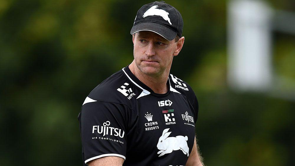 South Sydney coach Michael Maguire.