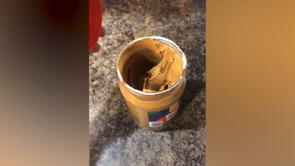 The genius reason people are spinning half empty jars of peanut butter