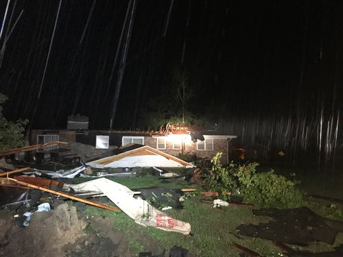 There are reports of mass injuries and fears there could be fatalities after last night's Jefferson City tornado.