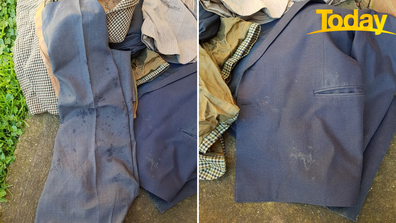 Another St Basil's resident received soiled clothes back in a garbage bag.