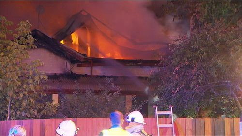 Fire investigators believe the cause of the fire was an electrical fault in the roof.
