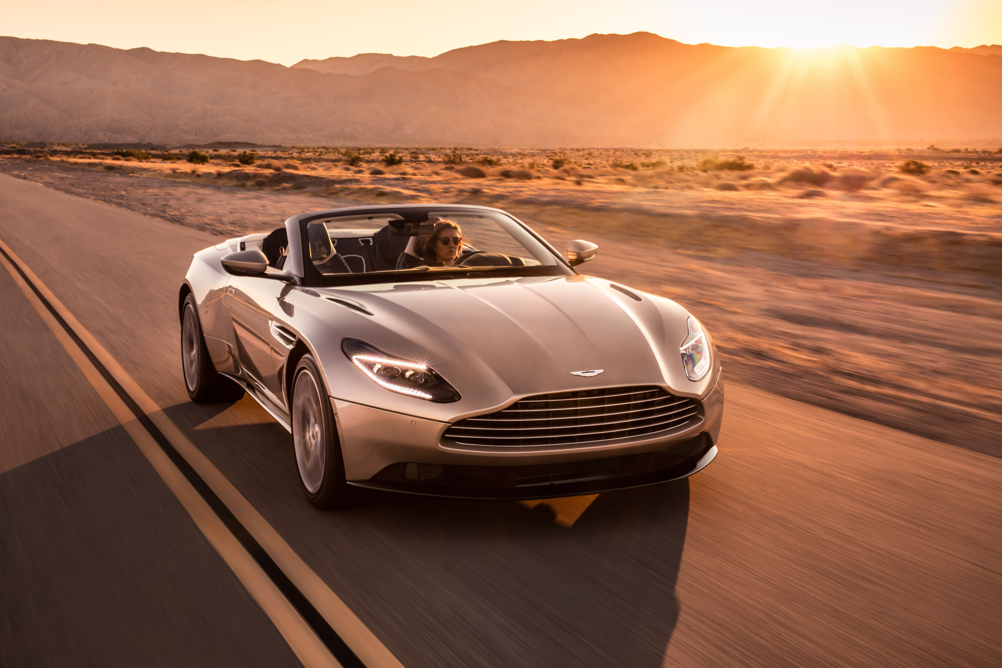 Aston Martin Unveils Nearly K Convertible DB Volante - Aston martin convertible