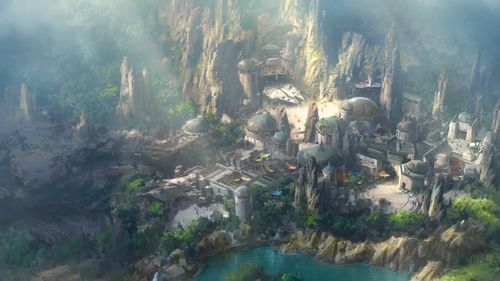 The land is set to open next year. (Disney)
