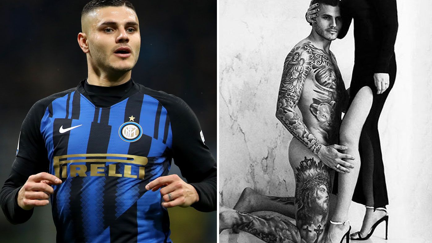 Mauro Icardi's controversial shoot