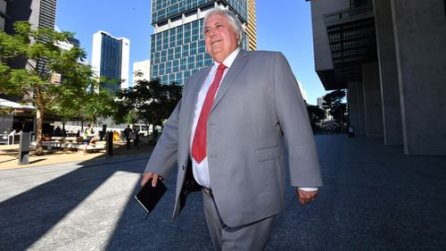 Clive Palmer has changed the name of his deregistered party. Picture: AAP