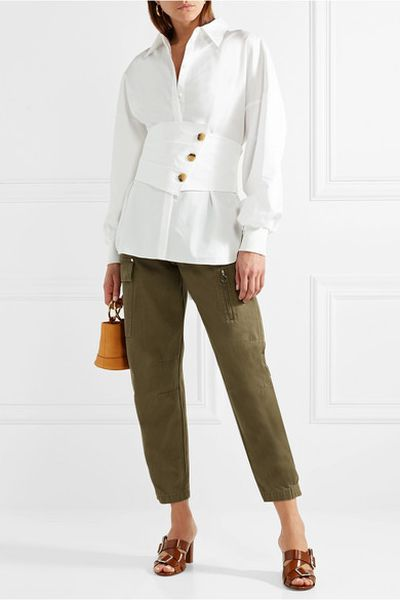 "<a href=""https://www.net-a-porter.com/au/en/product/1038231/Tibi/layered-cotton-poplin-shirt"" target=""_blank"" title=""Tibi Layered Cotton-Poplin Shirt, $285.57"">Tibi Layered Cotton-Poplin Shirt, $285.57</a>"