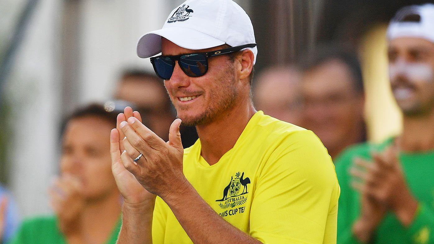 Aussie stars back Lleyton Hewitt's leadership after stunning Davis Cup start