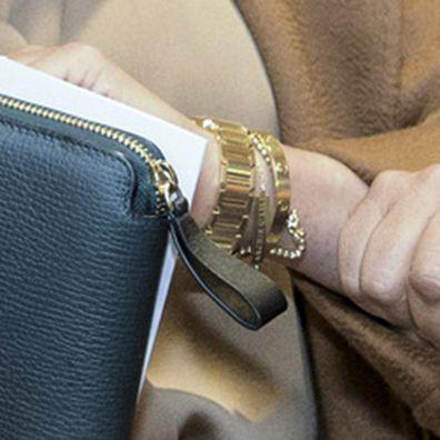 Meghan Markle's engraved bracelet during US visit