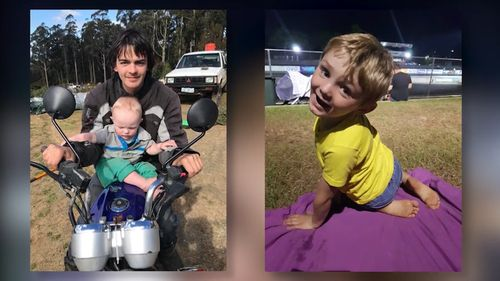 The families of seven-year-old Mehali Groening and 21-year-old Wade Williams were furious, as Andrea Groening turned up to court to represent herself legally.