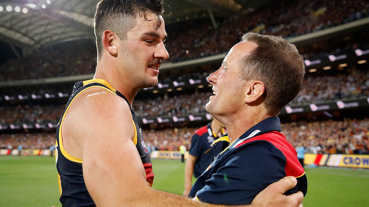 'I had a tear in my eye: Taylor Walker's emotional reaction to Don Pyke's Adelaide departure