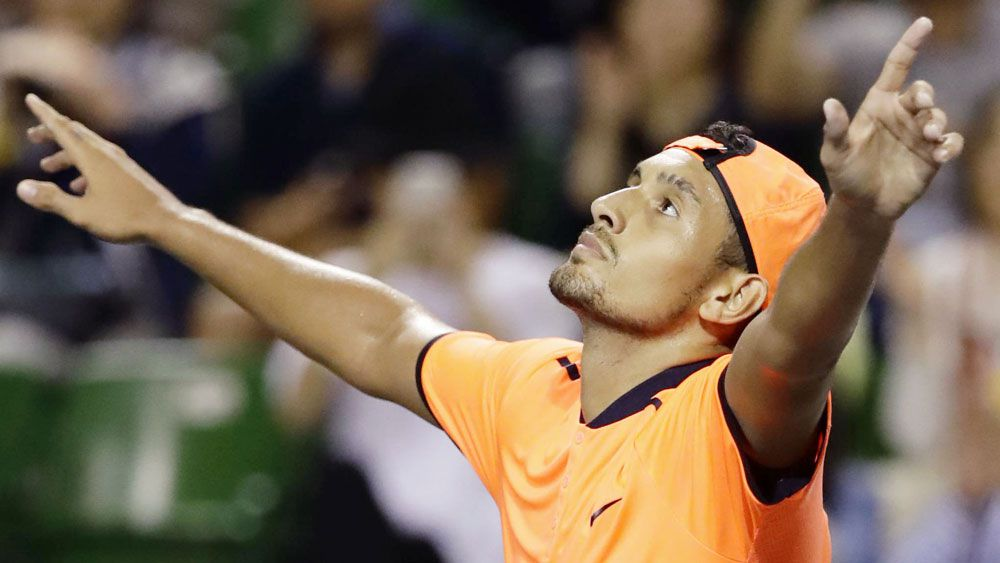 Nick Kyrgios is free to resume tournament play. (AAP)