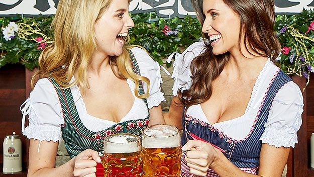 Women at Bavarian Bier Cafe (supplied)