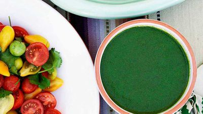 <strong>Green dressing</strong>