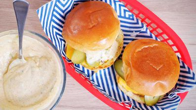 Quarantine Kitchen ultimate cheeseburger at home recipe