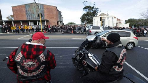 Hundreds of members gathered to mourn the passing of Taranaki Fuimaono, who died in police custody.