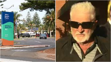 Ronald Toft is accused of trying to kidnap a six-year-old girl from a West Beach caravan park.