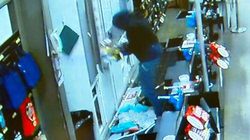 Thousands of dollars in cash and cigarettes were stolen from multiple Ballarat businesses this morning. Picture: Supplied.