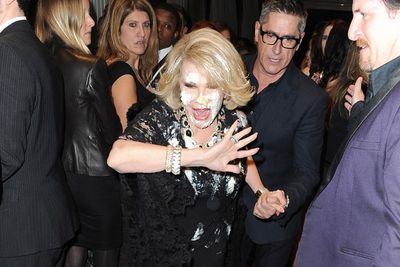"""Did you know Miss Piggy and Joan Rivers had a real-life feud?<br/><br/>In 2014, the <I>Fashion Police</i> ended up falling into a cake at the QVC red carpet event after getting into an explosive scuffle with the <i>Muppets</I> star. <br/><br/>""""Joan called me crying from the car,"""" comedian Sarah Silverman said. """"She had gotten cake all over her wig, all over her face face, which is the face she wears over her face."""" <br/>"""