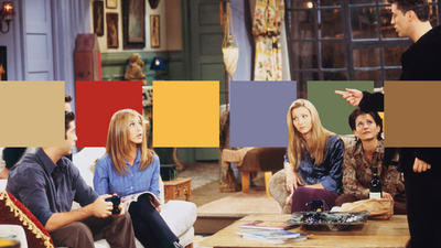 How to copy the colour palettes of your favourite TV living rooms